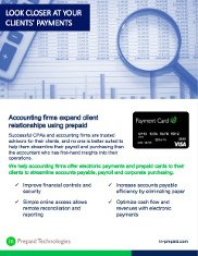 Accountants and Financial Advisors