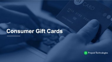 Consumer Gift Cards