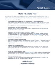 How to Avoid Fees