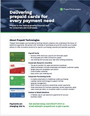 Prepaid Products  for Businesses